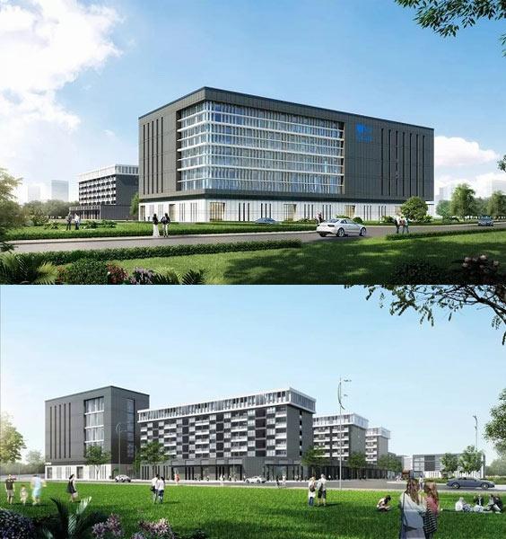 恵州工場完成イメージ図